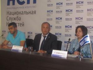 """Пресс-конференция в """"Национальной службе новостей"""""""